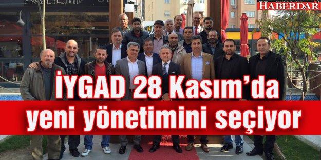 İYGAD 28 Kasım#039;da yeni yönetimini seçiyor