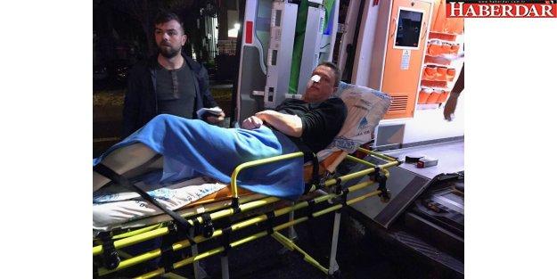 İYİ Parti'liler bıçaklı saldırı