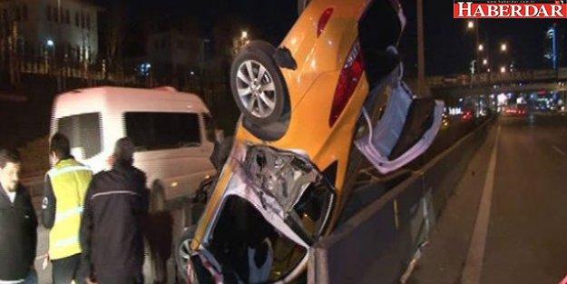 Kadıköy'de feci kaza: 1 ölü, 2 yaralı
