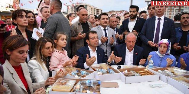 Kadir Gecesi'nde 20 bin vatandaş aynı sofrada iftar yaptı