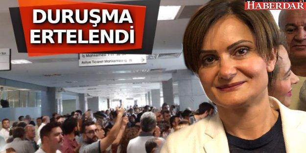 Kaftancıoğlu davası: Desteğe gelenler salona alınmadı, avukatlar dışarı çıkarıldı