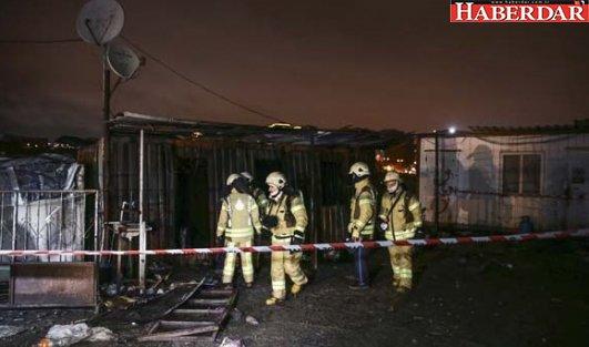 Kağıt Toplayıcılarının Barındığı Konteynerde Yangın: 3 Ölü
