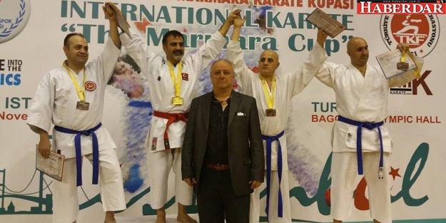 Kamil Üci Uluslararası Marmara Kupasında Birinci Oldu