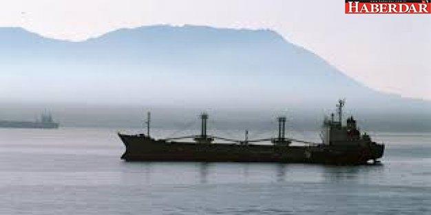 Karadeniz'de yük gemisi battı