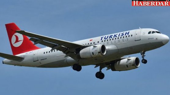 Karı koca sorun çıkarınca THY uçağı geri döndü