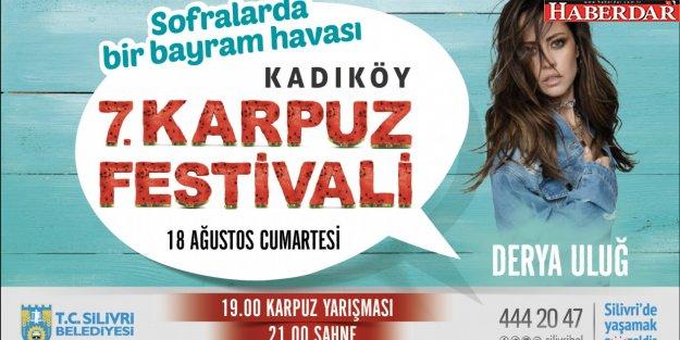 KARPUZ FESTİVALİ KADIKÖY'DE