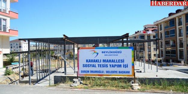 KAVAKLI, SOSYAL TESİSİNE KAVUŞUYOR