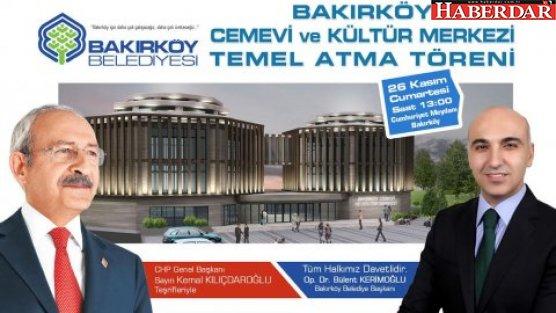Kılıçdaroğlu Bakırköy'e geliyor