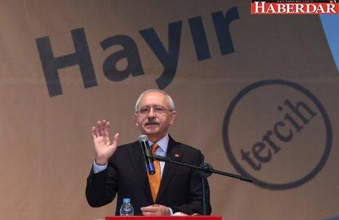 Kılıçdaroğlu'ndan referandum çıkışı: Sigortasız bir devlet olmaz