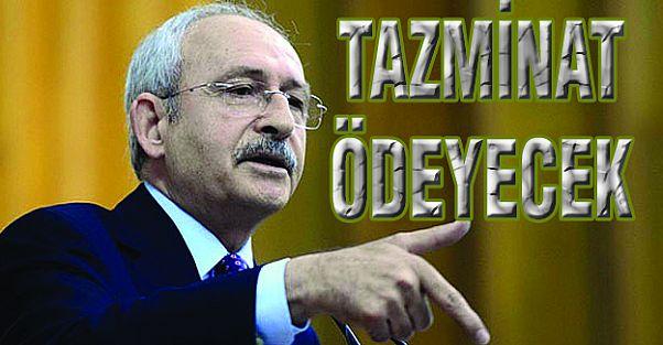 Kılıçdaroğlu Sarraf'a tazminat ödeyecek