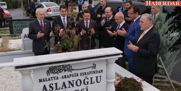 Kılıçdaroğlu'ndan, Mevlüt Aslanoğlu'na vefa