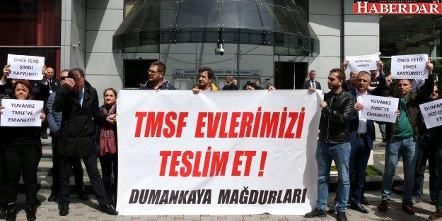 Konut mağdurları TMSF'ye seslendi
