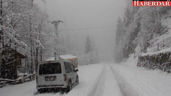 Kritik kar, yağmur ve çığ uyarısı