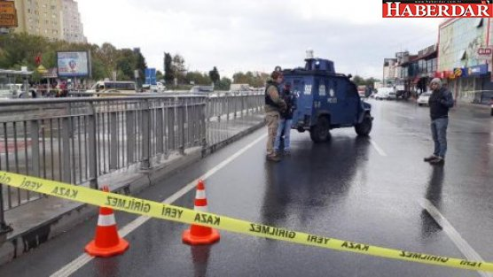 Küçükçekmece'de bomba alarmı! Polis alarma geçti