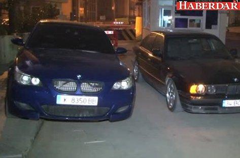 Küçükçekmece'de Otomobilleriyle Drift Yapan İki Maganda Yakalandı