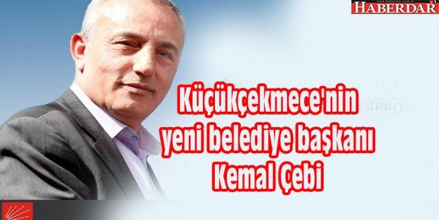 Küçükçekmece'nin yeni belediye başkanı Kemal Cebi