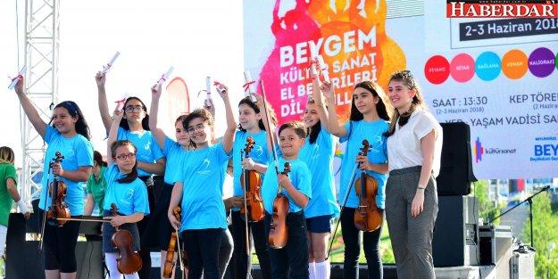 KÜLTÜR-SANAT OKULLARI'NA MUHTEŞEM FİNAL