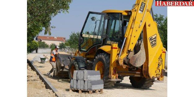 Kumburgaz'ın yolları baştan sona yenileniyor