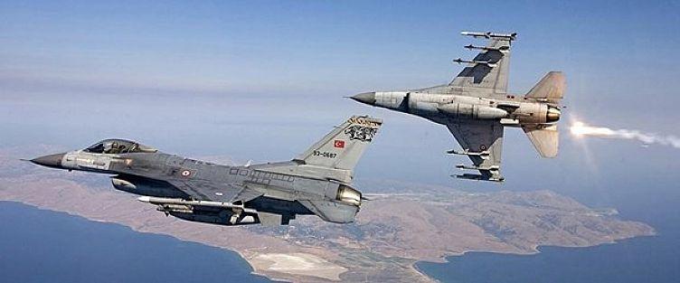 Kuzey Irak'ta PKK'ya ait 17 hedefe hava operasyonu