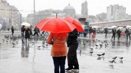 Kuzey ve Doğu kesimlerde sağanak yağış