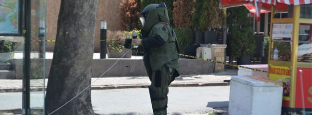 Levent'te bomba alarmı
