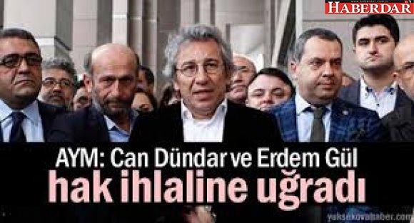 Can Dündar ve Erdem Gül'e tahliye kararı....