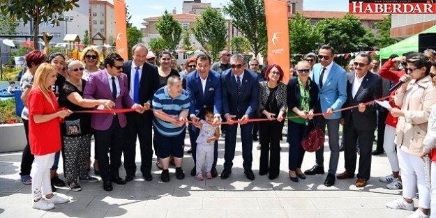 Makyol Yaşam Parkı ve otoparkı Barış Mahallesi'nde açıldı