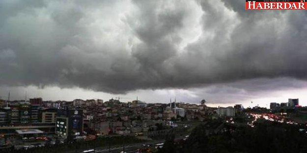 Marmara için sağanak ve sıcaklık uyarısı: 6 derece düşecek