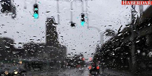 Marmara'ya yağış geliyor...