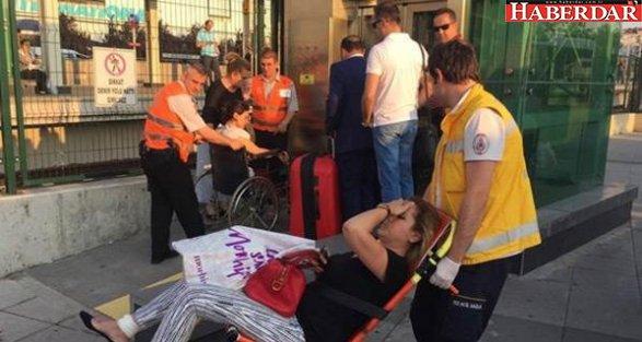 Marmaray'da bomba paniği: 2 yaralı