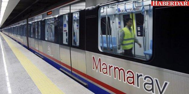 Marmaray'da şoke eden olay! Polis yolcuyu vurdu