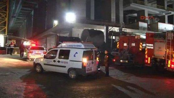 Mecidiyeköy'de 'asansör kazası'