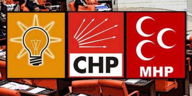 Meclis#039;te 3 partiden ortak açıklama