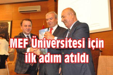 MEF Üniversitesi için ilk adım atıldı