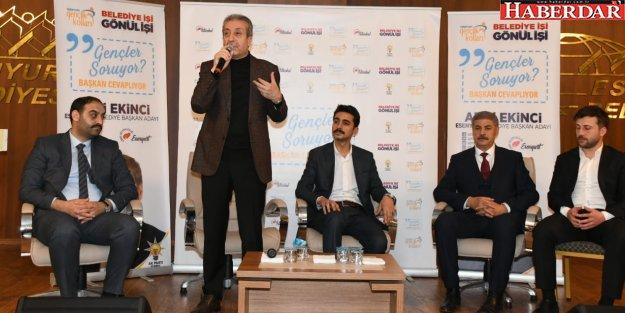 Mehdi Eker'den Azmi Ekinci'ye destek