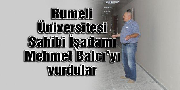 Mehmet Balcı'yı vurdular...