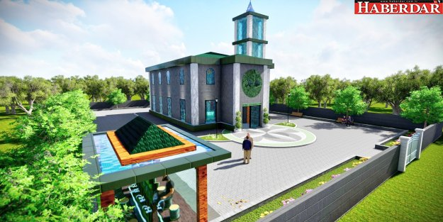 Mehmet Zeki Karakoç Camii mimarisiyle fark yaratacak