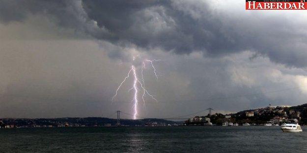 Meteoroloji'den İstanbul'a gök gürültülü sağanak uyarısı!