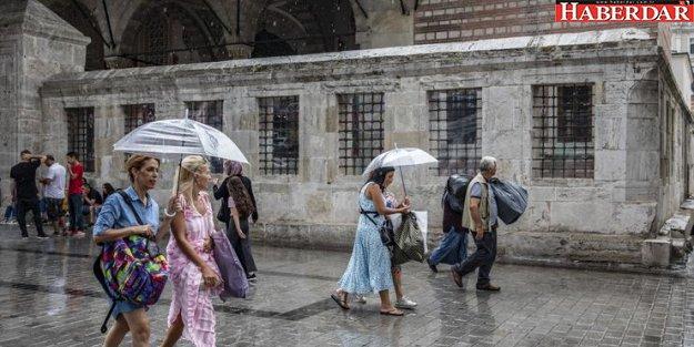 Meteoroloji'den İstanbul'a sağanak yağmur uyarısı