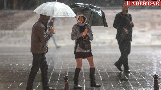 Meteoroloji'den İstanbul için uyarı! Saat verildi...
