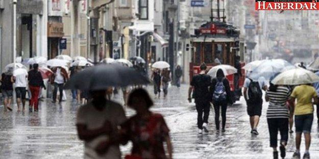 Meteoroloji'den İstanbul uyarısı! Saat verdi...
