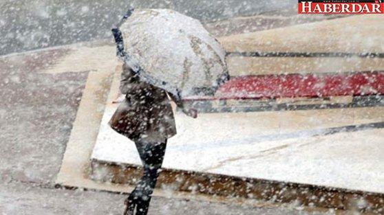 Meteoroloji'den kar uyarısı geldi