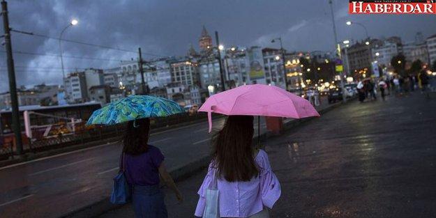 Meteoroloji'den Marmara'ya sağanak yağış uyarısı