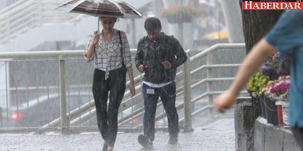 Meteoroloji'den son dakika hava durumu uyarısı: Yağış geliyor!