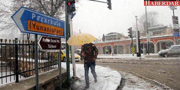 Meteoroloji'den 'yoğun kar' uyarısı (İstanbul'a kar yağacak mı)