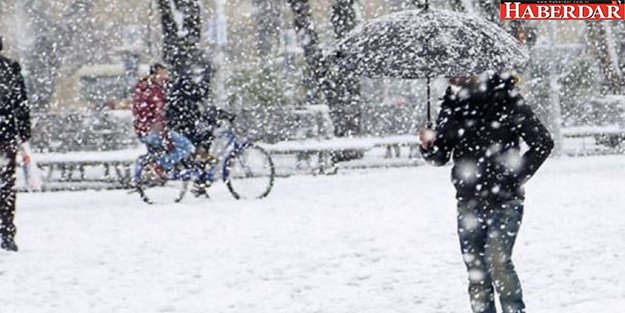 Meteoroloji saat verdi: Kar geliyor