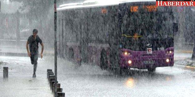 Meteoroloji Uyardı: İstanbul'a Hafta Sonu Sağanak Yağış Geliyor