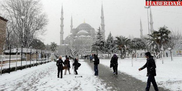 Meteoroloji uyardı; İstanbul'a Kar geliyor