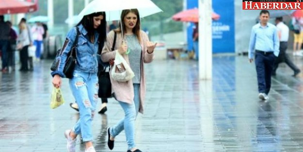 Meteoroloji uyardı, İstanbul'da yağış başladı