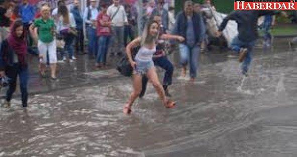 Meteoroloji Uyardı: Sağanak Yağış Cuma Gününe Kadar Sürecek